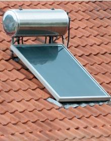Voorbeeld vlakke plaat zonnecollector