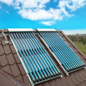 zonneboiler dak